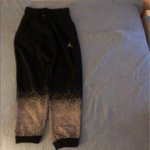 NWT Jordan Multi Color Sweatpants!